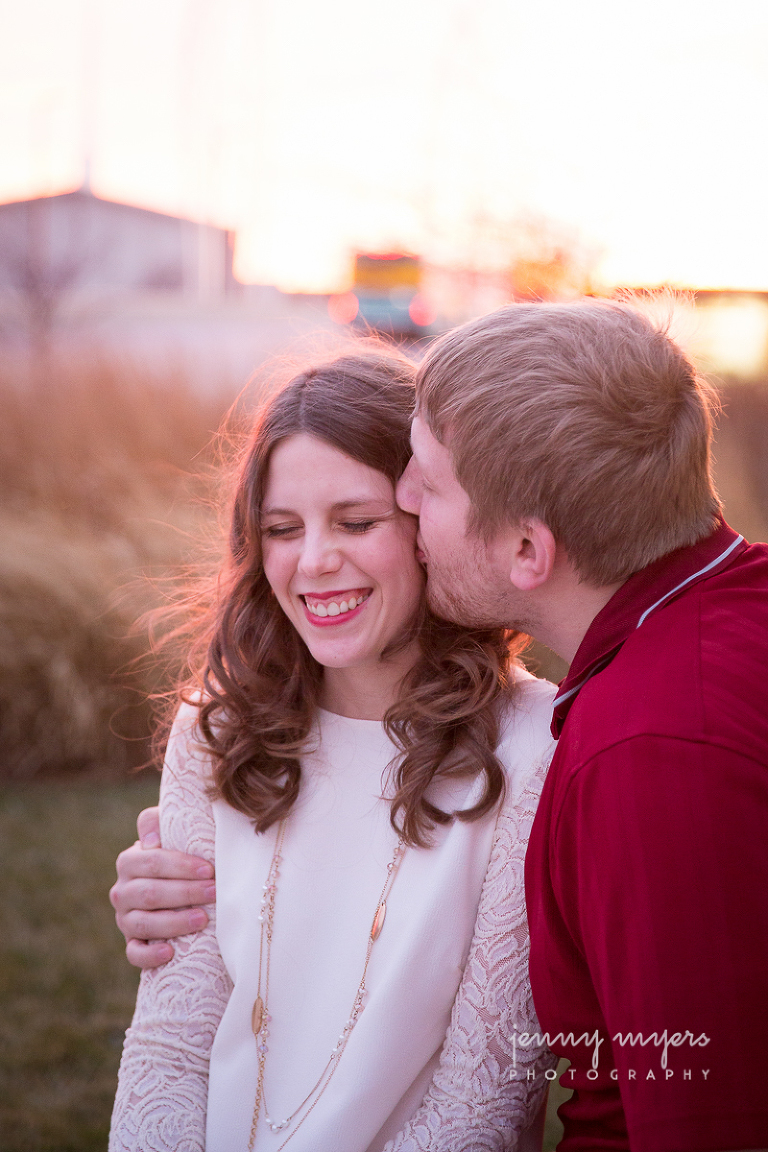 engagement session in downtown wichita