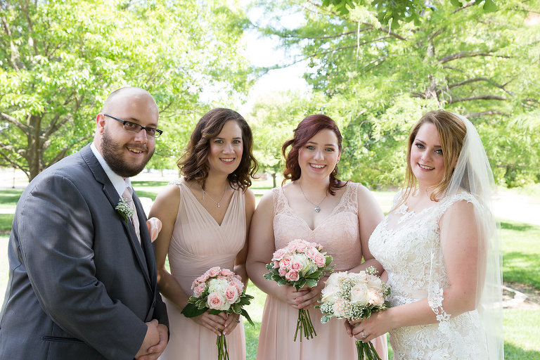 Bridal Party Blush Pink