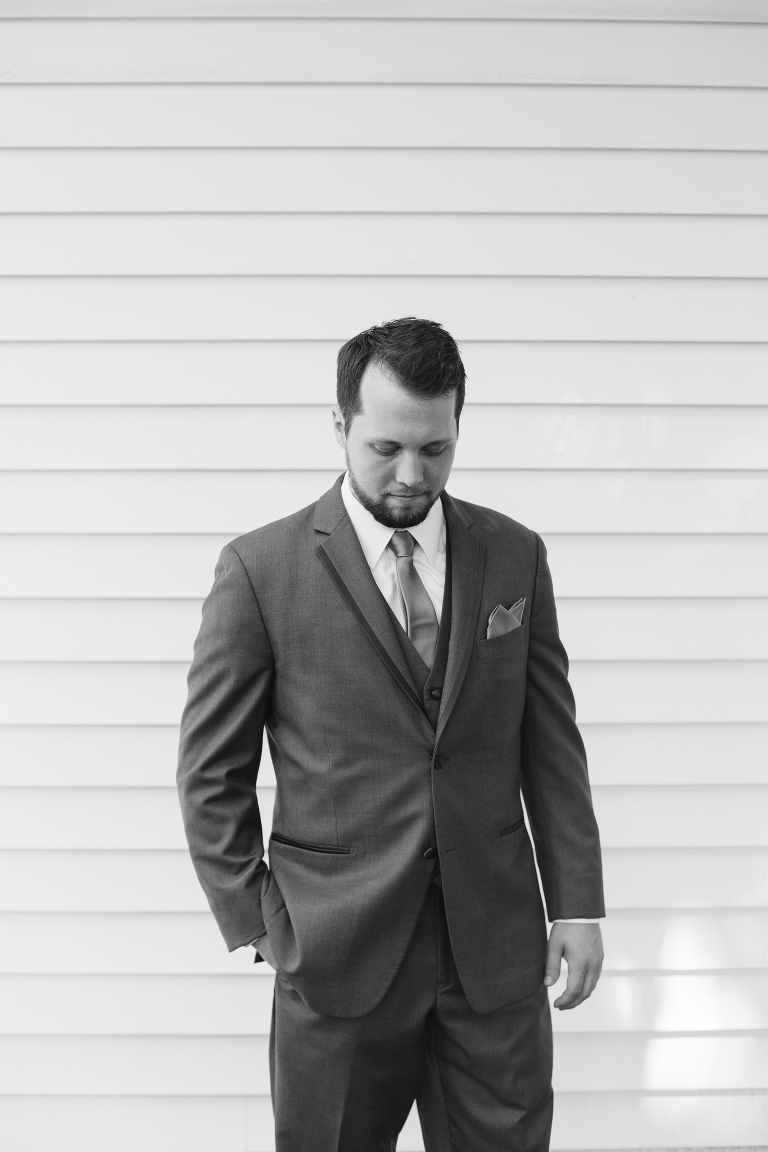 groom at Heritage Chapel in Willard MO