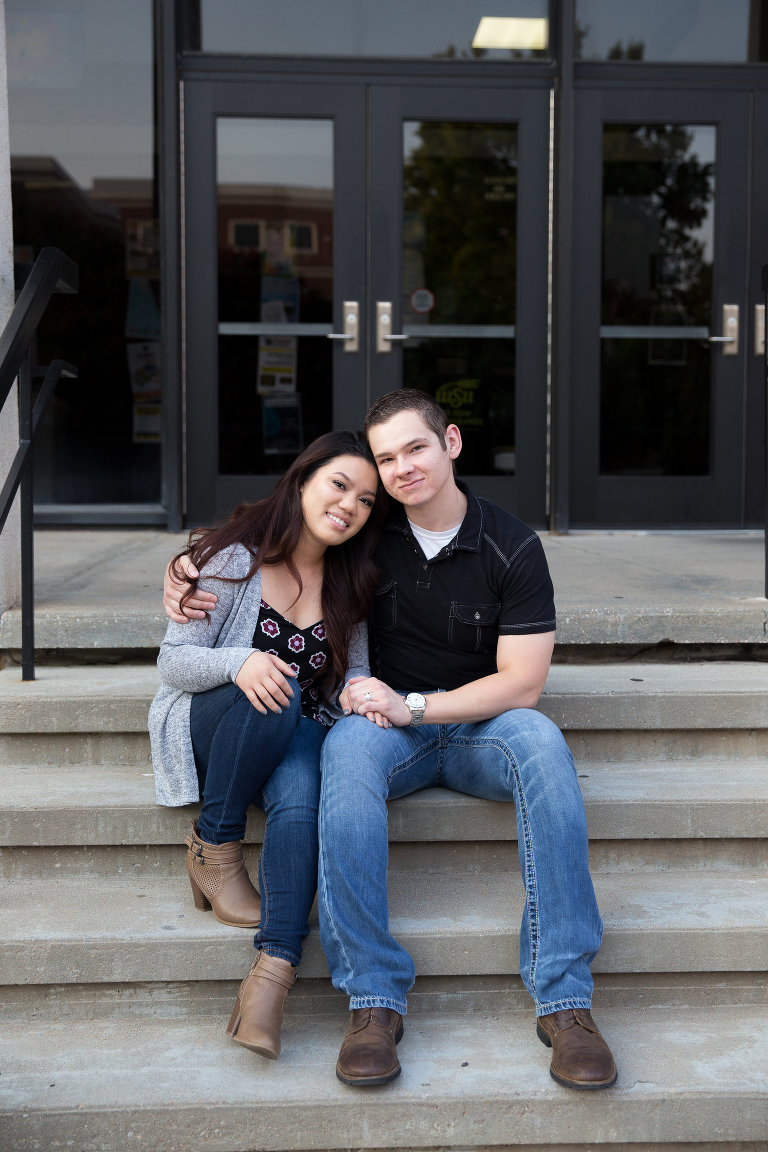 Engagement Photography at WSU