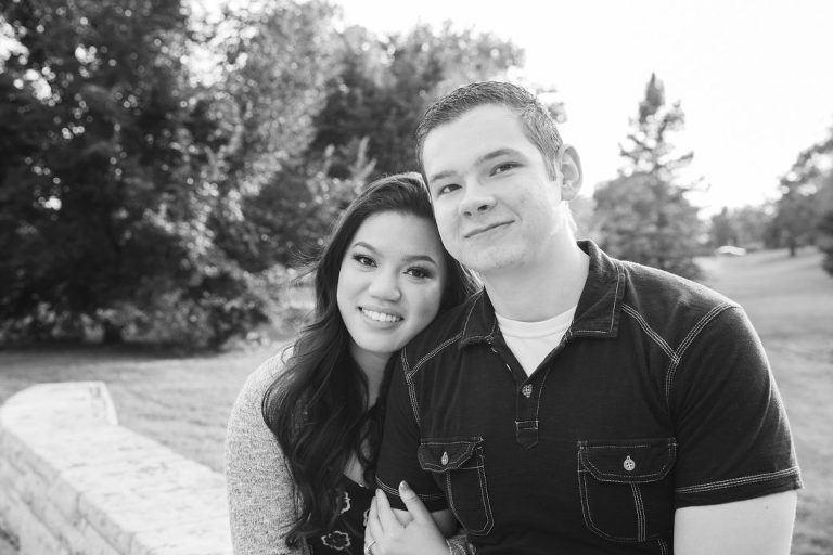 College Hill Park engagement photography