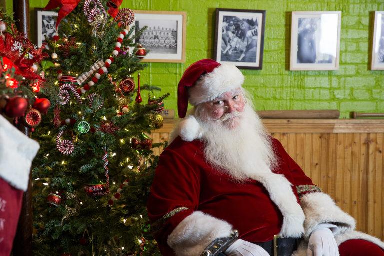 Santa at Public