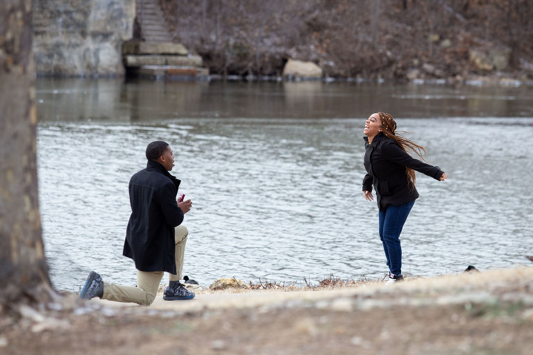 proposal in Wichita photography